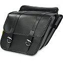 WILLIE & MAX BRAIDED SLANT SADDLEBAG - COMPACT
