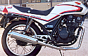 HONDA CBX250, CBX250RSE 2-1 Predator Exhaust System Road in BRUSHED Stainless