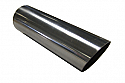 "TAIL PIPE 3"" Round Slash Cut 76mm (3 inch) Round Mitre Slash Cut"