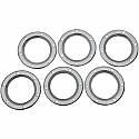 """HARLEY DAVIDSON DIFFUSER DISC 4"""" STAINLESS STEEL EXHAUST 12-PACK"""