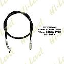 SUZUKI TS125X, SUZUKI DR125 SPEEDO CABLE
