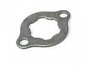 Final drive sprocket retaining plate