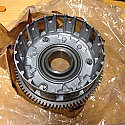 YAMAHA YZF R6 CLUTCH BASKET COMPLETE, PRIMARY DRIVEN GEAR, GENUINE NOS P/No 5EB1615000