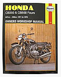 HONDA CB500F, HONDA CB500K1, HONDA CB500K2, HONDA CB350F 1971-1974 WORKSHOP MANUAL