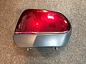 HONDA ST1100 PAN EUR COVER COMP., R. SADDLEBAG LID RED