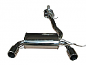 AUDI TT PERFORMANCE EXHAUST SYSTEM IN POLISHED STAINLESS STEEL