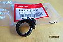 Speedometer cable guide,HONDA CX500