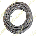 "STAINLESS STEEL BRAIDED HOSE 3/18"" (25 FEET)"