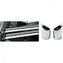 YAMAHA XV1600A ROAD STAR, XV1700A ROAD STAR, XVZ1300LT ROYAL STAR TOUR DELUXE, XVZ1300TF ROYAL STAR VENTURE 1999-2013 BARON EXHAUST TIP FAMILY JEWELS MINI SCALLOPED