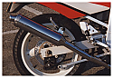 SUZUKI GSXR750J, K, SLINGSHOT (88-89) 4-2-1 SYSTEM ROAD IN BRUSHED STAINLESS