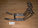 ZL600 ELIMINATOR KAWASAKI FRONT EXHAUST PIPES WITH COLLECTORS