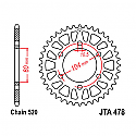 479-44 REAR SPROCKET CARBON STEEL