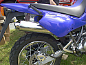YAMAHA XT600E, TT600RE SILENCER ROAD IN POLISHED STAINLESS