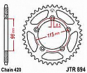 894-50 REAR SPROCKET CARBON STEEL