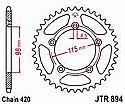 894-48 REAR SPROCKET CARBON STEEL