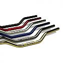YAMAHA BT1100 BULLDOG, FZS600 FAZER, FZS1000 FAZER, MT-03 660, DT125R, SR500, TDM850, TDM900, TW125 TRAILWAY 1978-2011 TRW AUTOMOTIVE HANDLEBAR SUPERBIKE ALUMINIUM Ø 22 BLUE