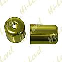 SUZUKI GSX-R1100WP, SUZUKI GSX-R1100WR BAR END COVER GOLD