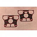 H/D ROCKER COVER BASE GASKET RUBBER COATED METAL (84-02) FX, FL, XL,XR (PAIR)