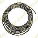 STAINLESS BRAIDED BRAKE HOSE WITH CLEAR COVERING (10 METERS)
