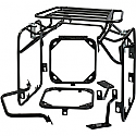 KAWASAKI KLR650, KAWASAKI KLR650 TENGAI 1987-2007 MOOSE RACING EXPEDITION LUGGAGE RACK SYSTEM