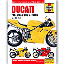 DUCATI 748, DUCATI 916, DUCATI 996 4-VALVE TWINS 1994-2001 WORKSHOP MANUAL