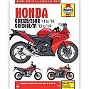 HONDA CBR125R, HONDA CBR250R, HONDA CBR250L, HONDA CBR250M 2011-2014 WORKSHOP MANUAL