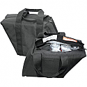 T-BAGS SADDLEBAG COOLER TEXTILE BLACK
