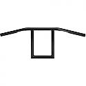 "BILTWELL INC. WINDOW 25,4 MM O.D. HANDLEBAR 9"" BLACK"