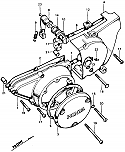 (93700-060450A) SCREW, OVAL, 6X45 CB125B6