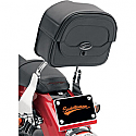 SADDLEMEN CRUIS'N DELUXE SISSY BAR BAG LARGE BLACK