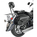 WILLIE & MAX LARGE STANDARD REVOLUTION SADDLEBAG - HARD MOUNT