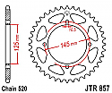 857-47 REAR SPROCKET CARBON STEEL