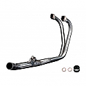 HONDA CBF500, A, ABS (04-08) STAINLESS STEEL HEADER EXHAUST DOWNPIPES OEM COMPATIBLE