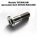 90125-KA4-000, SCREW, FLAT, 8X31, Honda