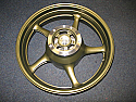YAMAHA FZ6 Yamaha Fazer (20S) 04-11 NEW REAR WHEEL DARK GOLD GENUINE