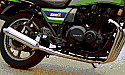 KAWASAKI Z1000R, KZ1000R (83-85) SYSTEM ROAD IN POLISHED STAINLESS
