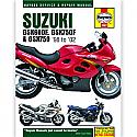 SUZUKI GSX600F, SUZUKI GSX750F, SUZUKI GSX750 1998-2002 WORKSHOP MANUAL
