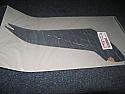 YAMAHA R1 YZFR-1 4C8 07-8 EXHAUST HEAT SHIELD PROTECTOR