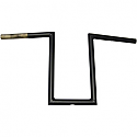 "LA CHOPPERS 30,48 CM (12"") HANDLEBAR NARROW Z / BLACK-FLAT"