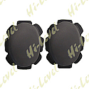 KNEE SLIDERS BLACK WITH SUEDE AND VELCRO BACKING