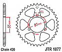 1077-47 REAR SPROCKET CARBON STEEL