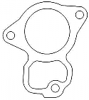 Honda 19229-KS6-700 Water Pump A gasket