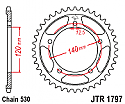 1797-41 REAR SPROCKET CARBON STEEL