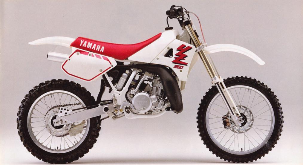 YAMAHA YZ250 1989 PARTS