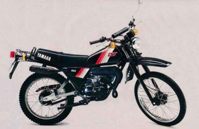 YAMAHA DT50MX (5N3,5M4,5M6) UK, NED, BEL 1981 PARTS
