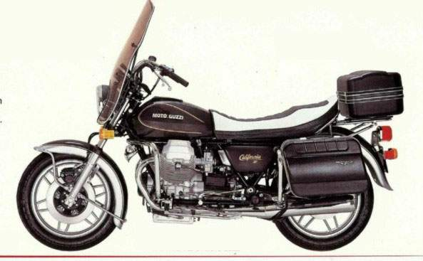 MOTO GUZZI CALIFORNIA 1000 II PARTS