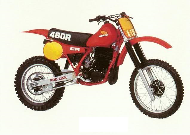 HONDA CR480R 1982-ONWARDS PARTS