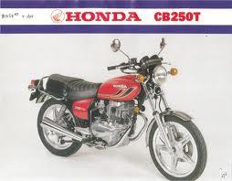 HONDA CB250T (DREAM) PARTS