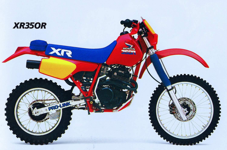 HONDA XR350R PARTS