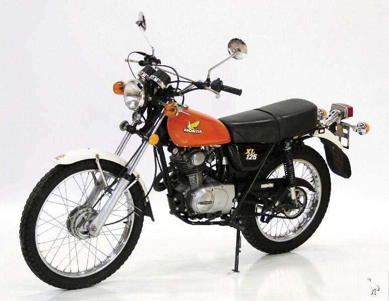HONDA XL125A 1976-1978 PARTS